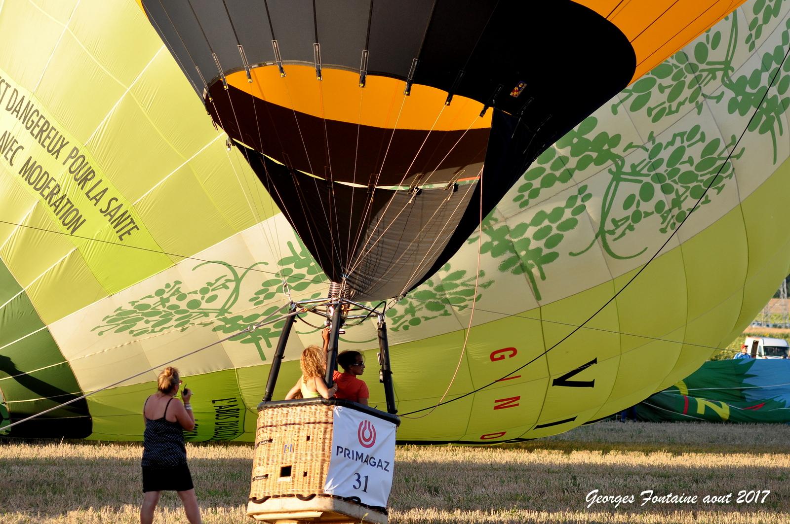 montgolfiere a semussac